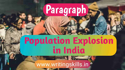 Paragraph on Population Explosion in India, essay on Population Explosion in India