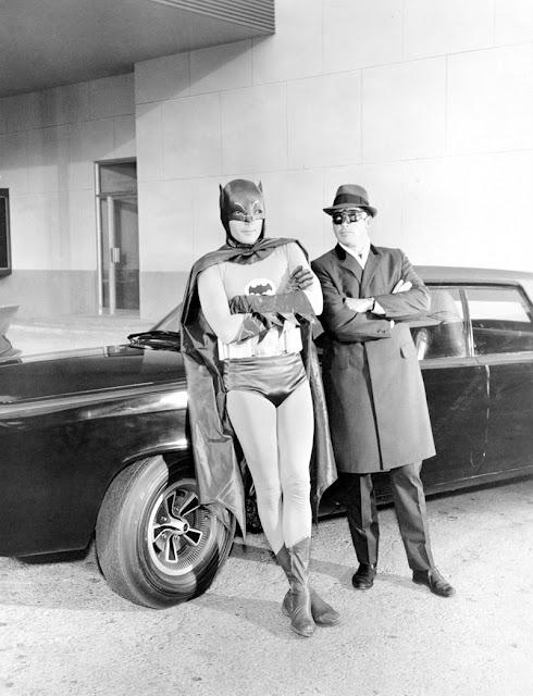 La serie Batman detrás de las cámaras