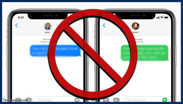 رسالة جديدة تقوم بحظر هاتف الأيفون iPhone الخاص بك