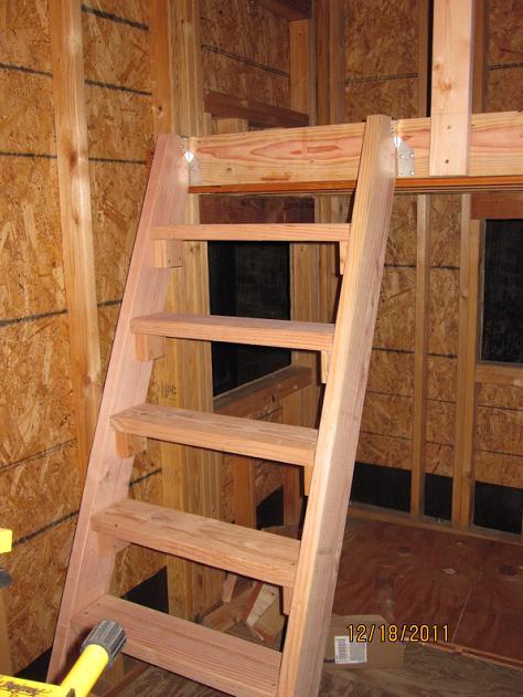 A Frame House Plans With Loft
