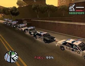 Cheat Game GTA San Andreas (PS2)