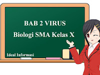 BAB 2 VIRUS, Biologi SMA Kelas X beserta Contoh Soal