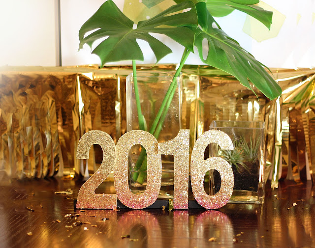 martha stewart crafts ombre glitter new year