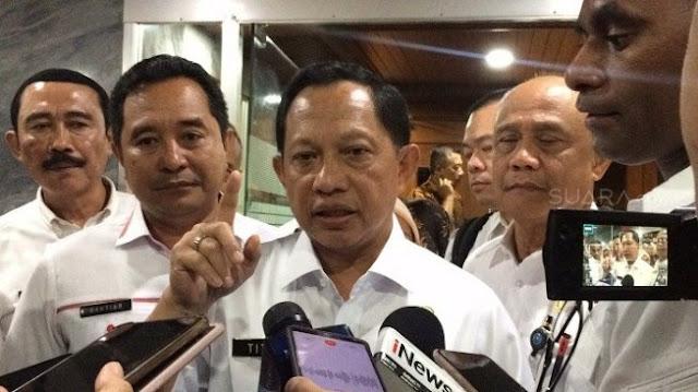 Soal SKT FPI, Mendagri Tito: Ada Khilafah, Hisbah dan Jihad di AD/RT