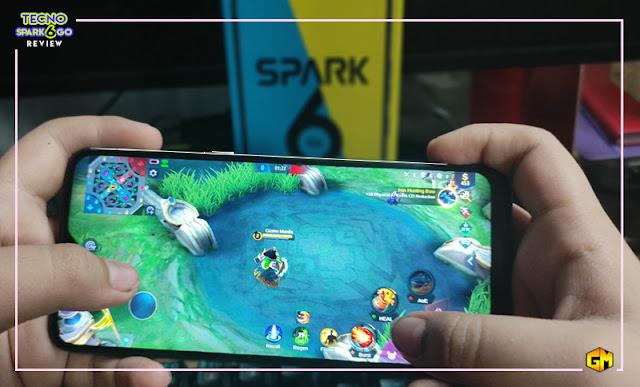 Tecno Spark 6 Go gaming gizmo manila