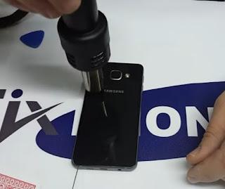 Cara ganti baterai non removable samsung a3