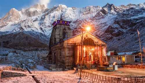Kedarnath Temple In India - Bhaktapur Jangam Math In Nepal