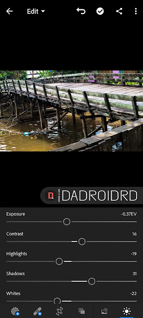 Cara Edit Foto dengan Adobe Lightroom Android | DADROIDRD