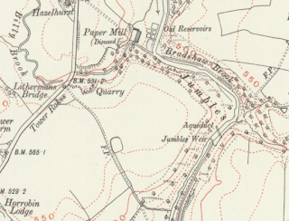 Jumbles Map 1930