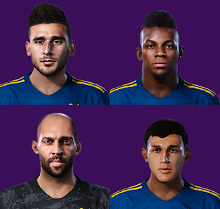 PES 2020 Boca Juniors Mini Facepack 2 by Gordoumbanda