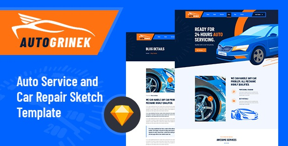Best Auto Service and Car Repair Template