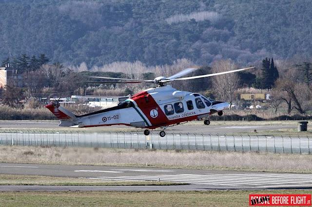 Sezione Elicotteri Guardia Costiera Sarzana