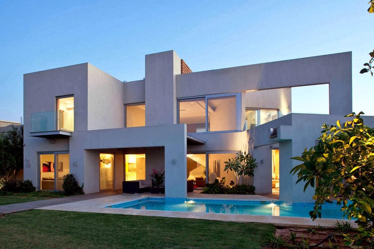 Decoracion actual de moda fachadas de casas modernas for Fachadas de casas nuevas modernas
