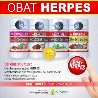 Obat herpes,dompo De Nature di Aceh Barat Daya