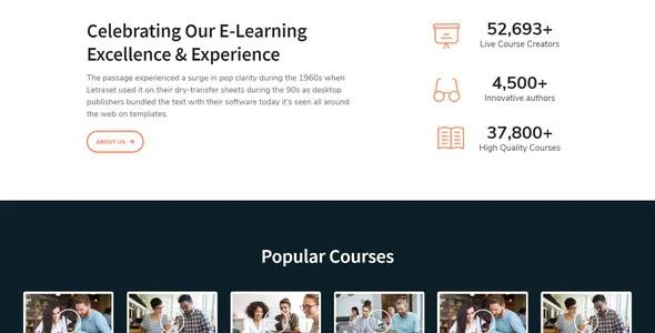 Best e-Learning Elementor Template Kit