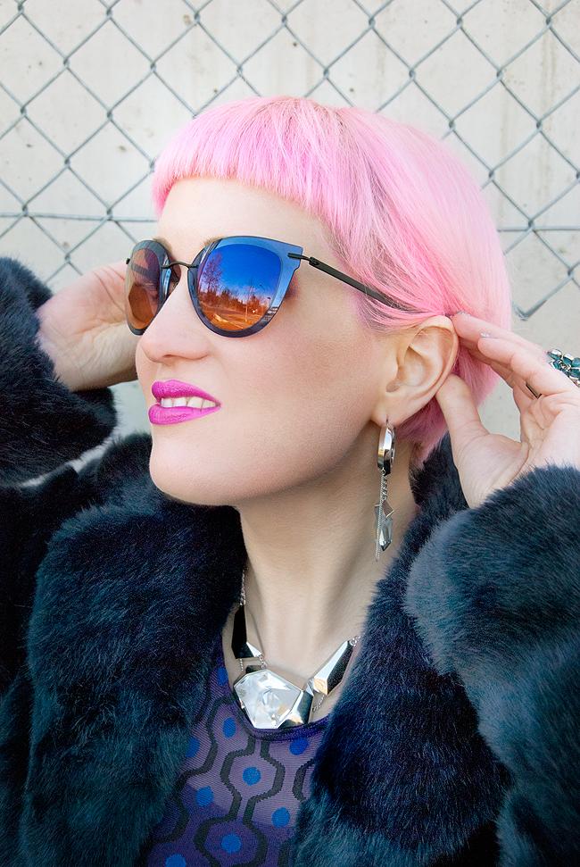 Silhouette Eyewear, Jean Paul Gaultier x Swarovski, blogger loook