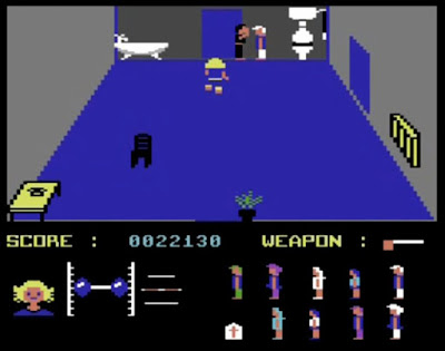 Friday the 13th Commodore 64 Jason Vorhees