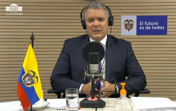 """Iván Duque sobre el regreso del FPC: """"Es preferible concentrar que tener disperso el torneo"""""""