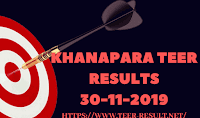 Khanapara Teer Results Today-30-11-2019