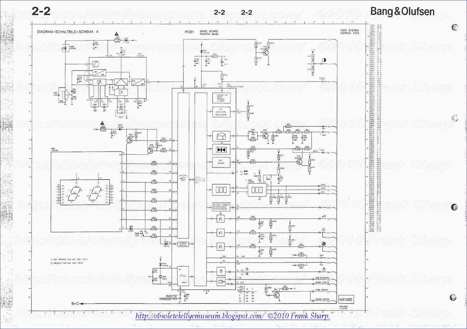 Obsolete Technology Tellye !: BANG & OLUFSEN BEOVISION