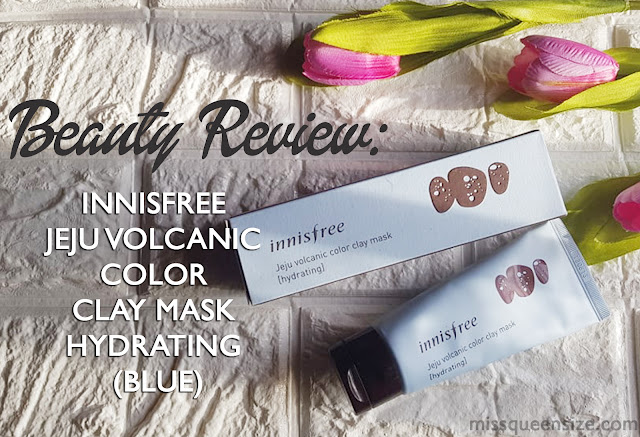 Innisfree Jeju Volcanic Color Clay Mask Hydrating (Blue)
