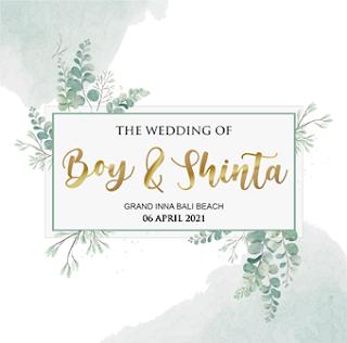 06042021 THE WEDDING OF BOY & SHINTA AT GRAND INNA BALI BEACH