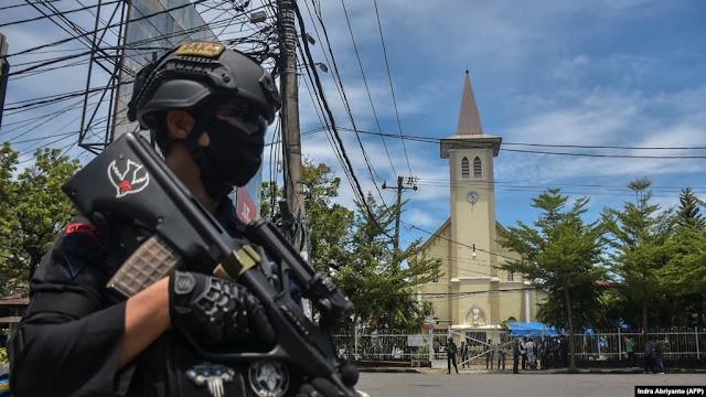 Bom Bunuh Diri di Makassar, Polisi Duga Pelaku Dua Orang