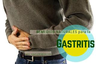 Remedios caseros para tratar la gastritis