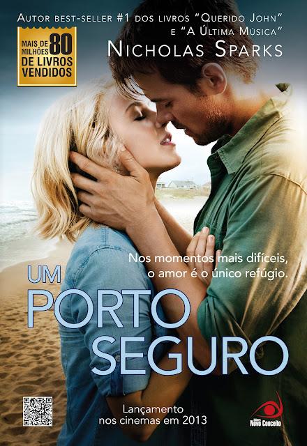 News: Capa do livro Um Porto Seguro, de Nicholas Sparks 5