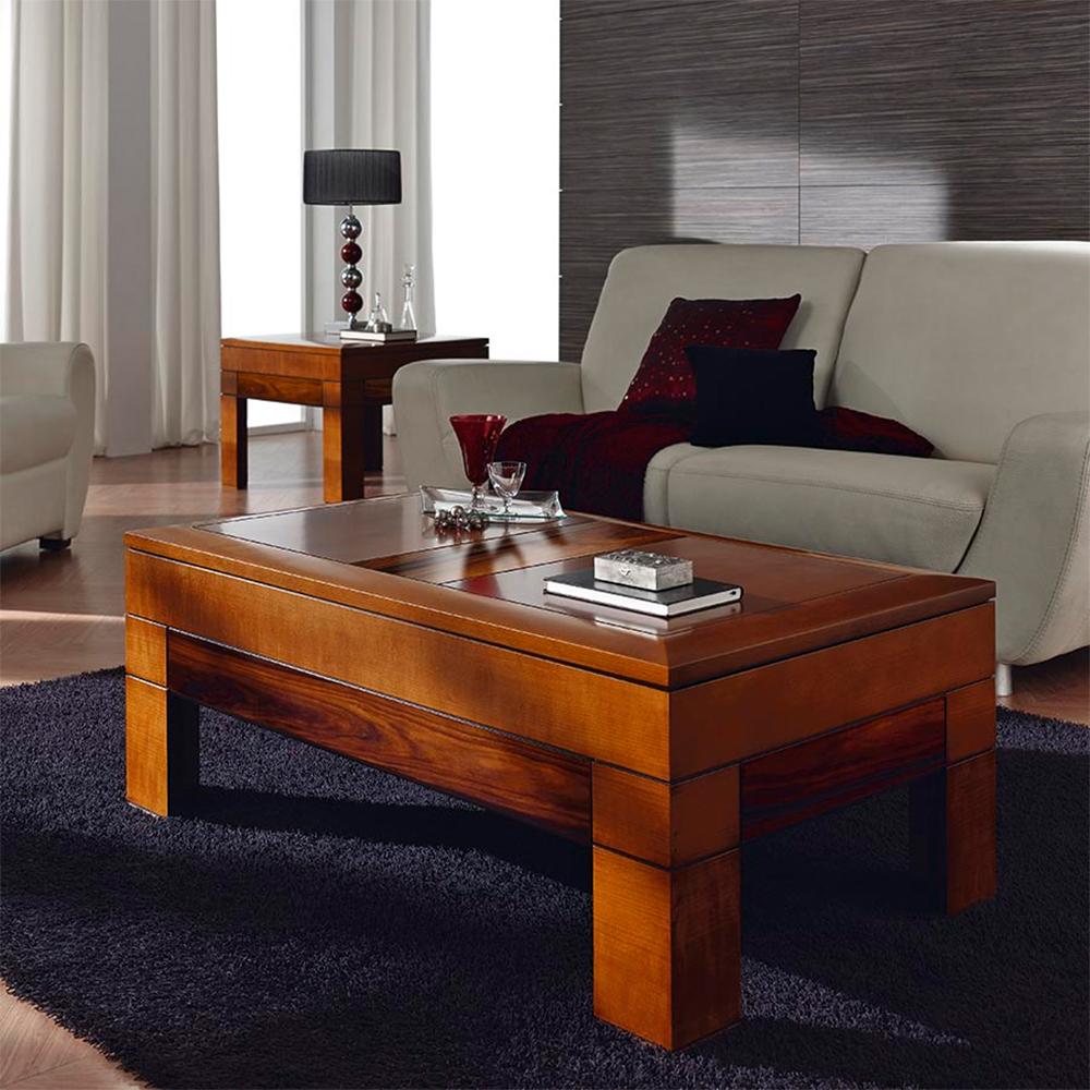 Muebles de sal n mesas de centro practicas para el salon - Mesas de centro salon ...