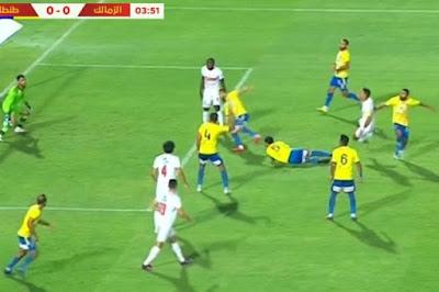 ملخص واهداف مباراة الزمالك وطنطا (3-1) الدوري المصري