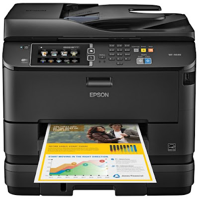 One Inkjet Printer with Scanner and Copier Epson Workforce Pro WF-4640DTWF Driver Downloads