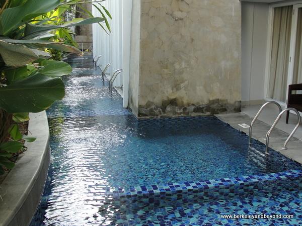 plunge-pool rooms at Swiss-Belresort Watu Jimbar in Sanur, Bali, Indonesia