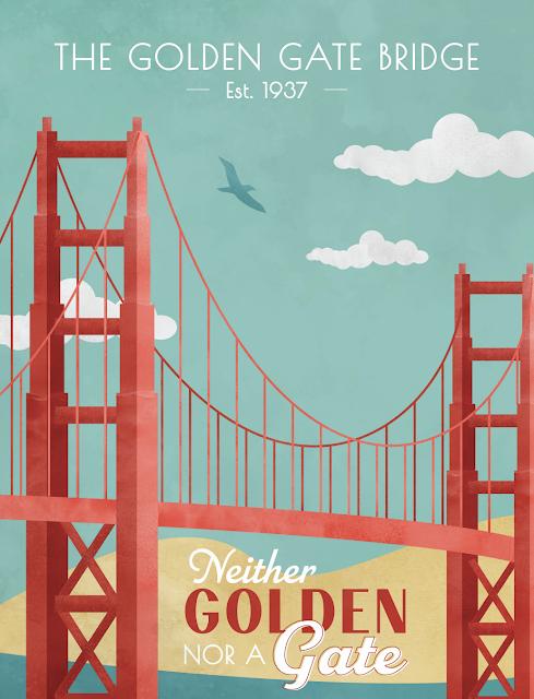 Traveling Blues - Golden Gate - humor