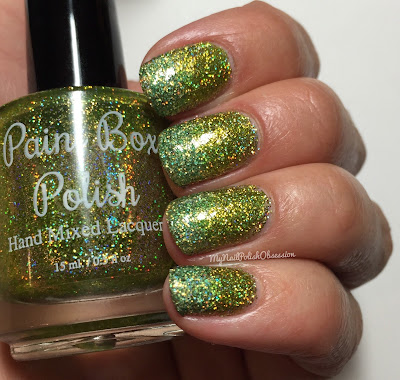 Twin Mani Tuesday: Paint Box Polish A Dragon Is Not A Slave & Waimea Waters