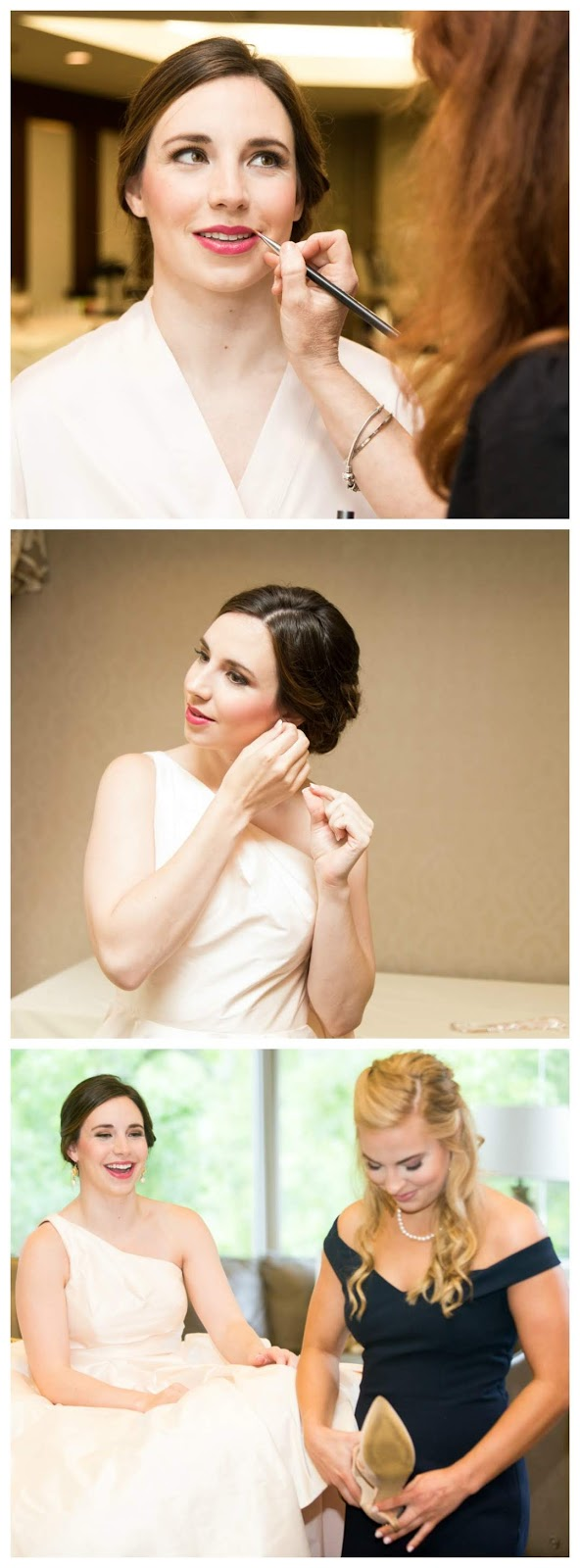 Makeup by Keri Ann _ Lawrence Elizabeth Knox Wedding Photography _ Houston Racquet Club Weddings
