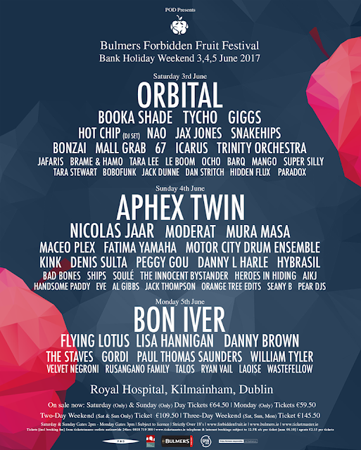 Forbidden Fruit Festival 2017 Line Up