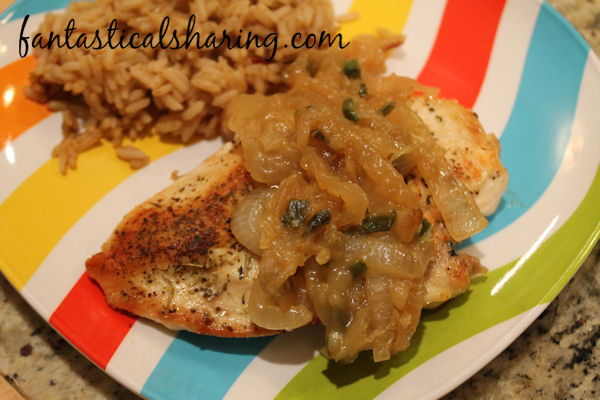 Grilled Chicken with Jalapeno and Carmelized Onion #recipe #chicken #jalapeno #onion #maindish