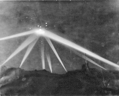 Huge UFO Over Los Angeles (Retouched Version) Feb. 1942
