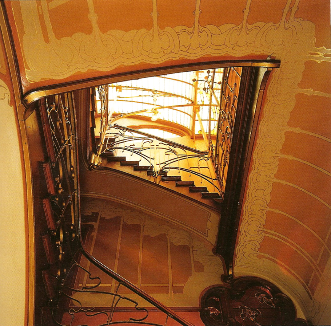 My Architectural Moleskine 174 Victor Horta House Studio In