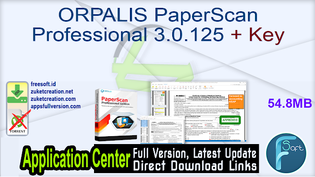 ORPALIS PaperScan Professional 3.0.125 + Key