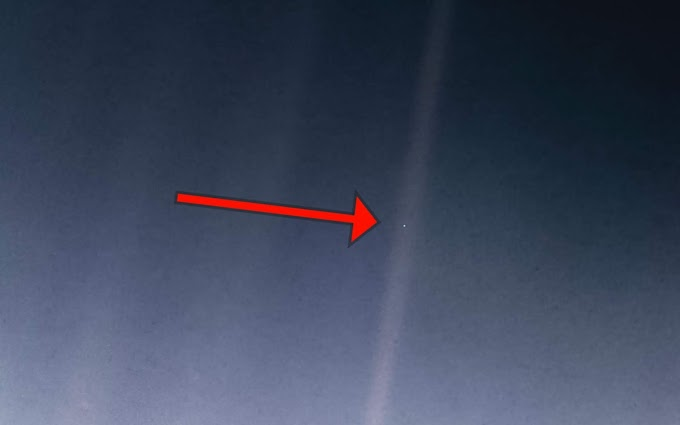 14 February 1990, Voyager 1 captured this heart-wrenching image - the whole humanity is in this tiny dot