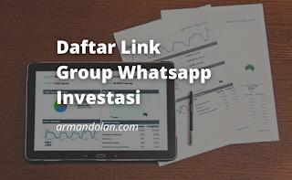 group whatsapp investasi