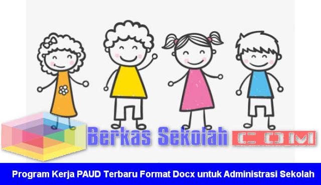 Program Kerja PAUD Terbaru Format Docx