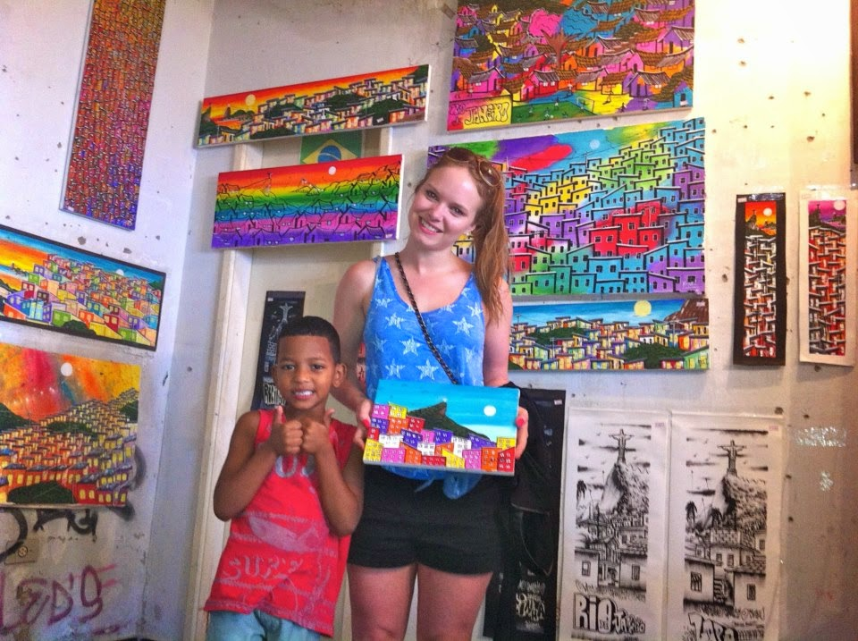 Wanderlust Chloe - Chloe Gunning - Art Rocinha Favela Rio De Janeiro