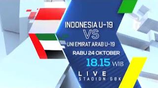 Susunan Pemain Indonesia vs Uni Emirat Arab - Piala AFC U-19 2018