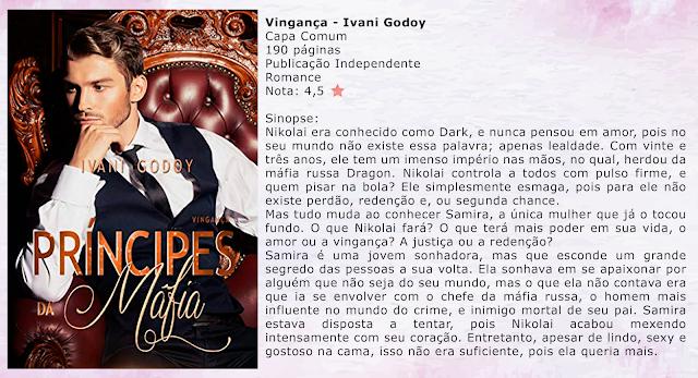 Vingança - Príncipes da Máfia - #01 - Ivani Godoy