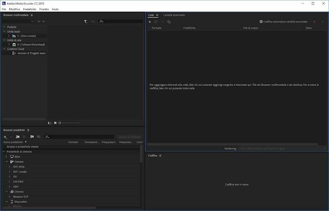 Screenshot Adobe Media Encoder CC 2019 v13.1.5.35 Full Version