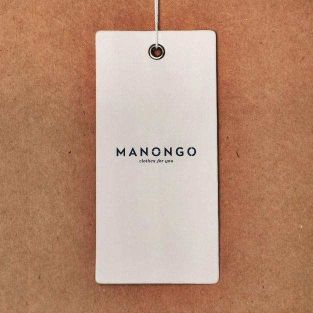 Desain Mockup Hang Tag Baju