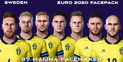 PES 2021 Sweden EURO 2020 Facepack by Maijna